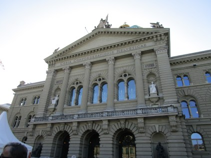 The Parliament Building (Bundeshaus)