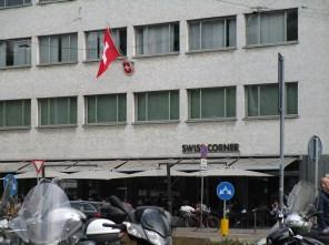 """Milano's """"Swiss Corner""""...I just can't escape."""