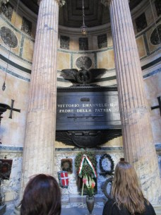 Tomb of the first king of Italy.