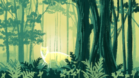 Forest Sketch, 2020