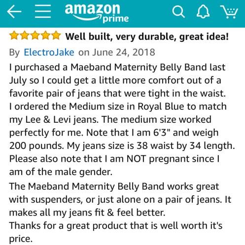 Men use the Maeband, too!