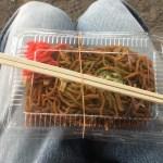 【名古屋市】名古屋城 金シャチ焼本舗さくら 名古屋城敷地内売店で焼きそばを食べてきた。