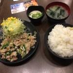 【亀戸】伝説のすた丼屋 亀戸店、塩すたみなライスとろろ付定食を食べてきた【感想】