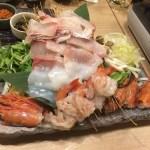 【新横浜】個室の居酒屋、政宗。『豪華海鮮堪能コース』うにしゃぶは最高に美味しい!!