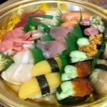 宅配寿司 味ぎん 浦安店、デリバリーサービスで桜島を注文してみた