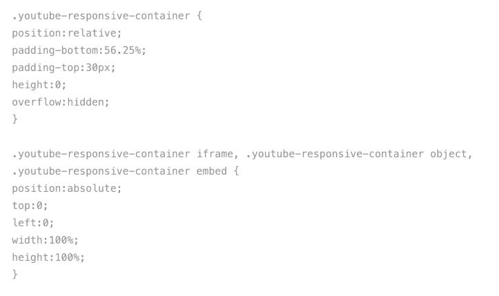 YouTube Responsive Containers for WordPress | John Maeda's Blog