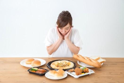 過食について