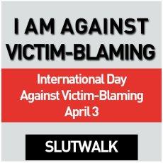 Ich bin gegen opferbeschuldigendes Verhalten. Internationaler Tag gegen Victim-Blaming am 3. April