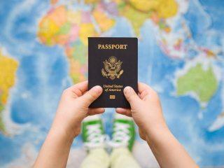 passaporte para bebê ou criança