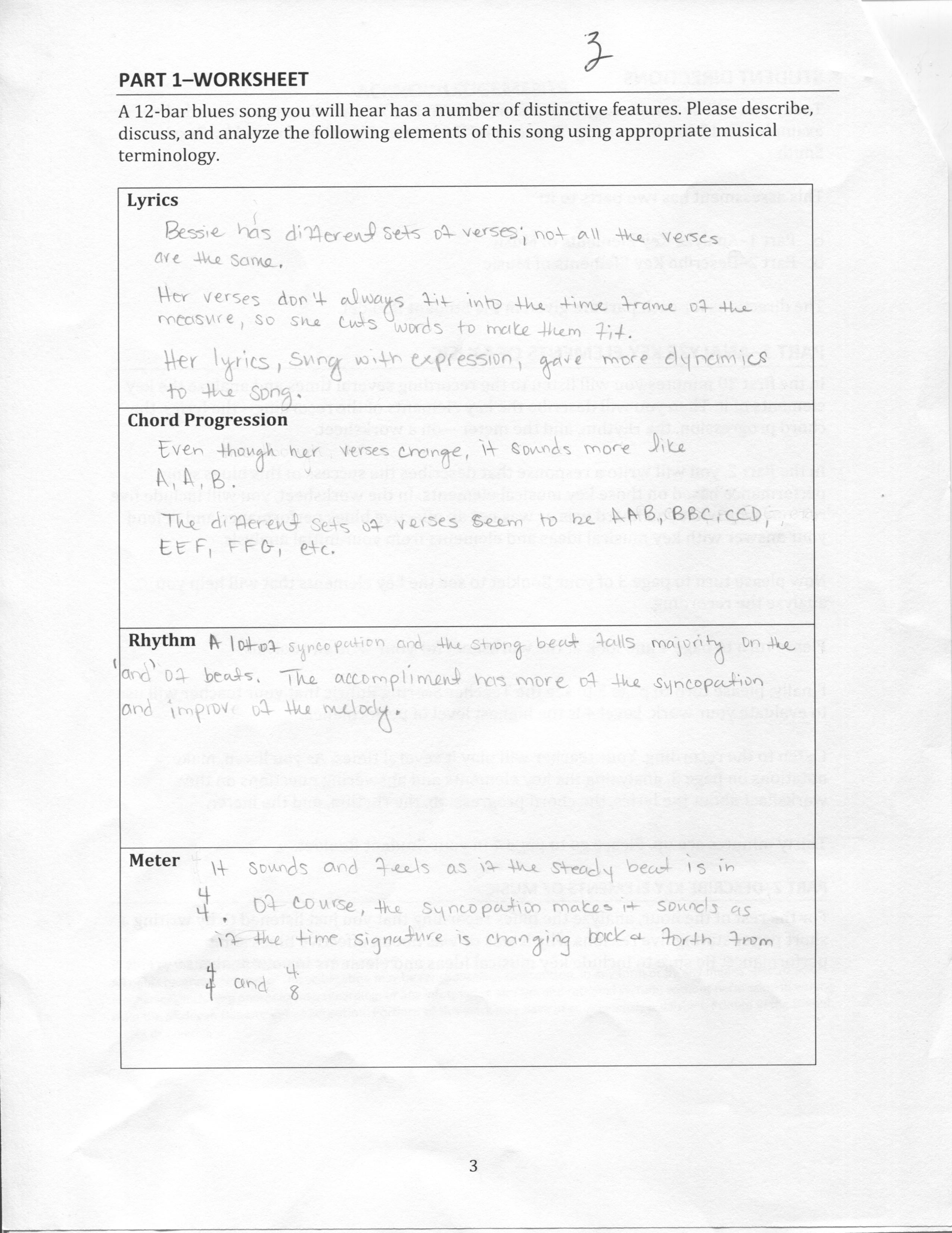 Worksheet Songysis Worksheet Grass Fedjp Worksheet