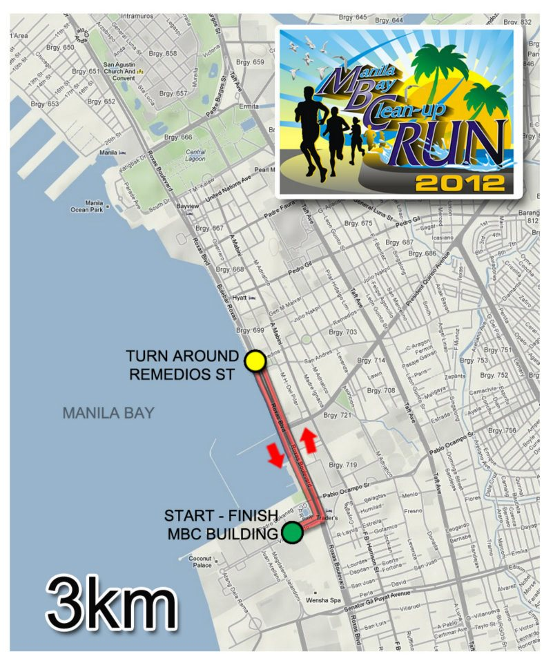 Let's Go and Run for Manila Bay CleanUp Run 2012! (2/5)
