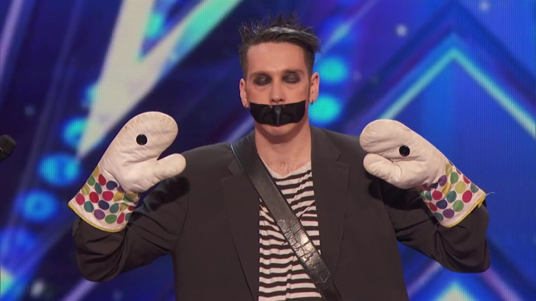 america's got talent tapeface