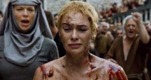 game of thrones caminata cersei