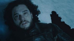 game of thrones muerte jon snow