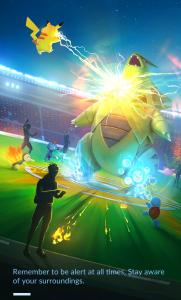actualizacion gimnasios pokemon go
