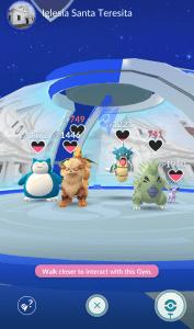 nuevos gimnasios pokemon go