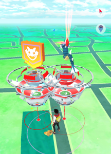 pokemon go multijugador gym raid battle