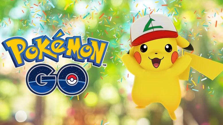 evento aniversario pikachu sombrero pokemon go