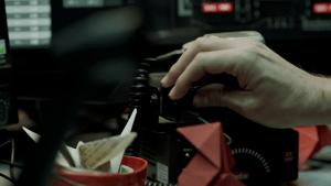casa de papel radio de policía