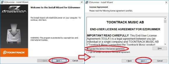 EZdrummer install 10