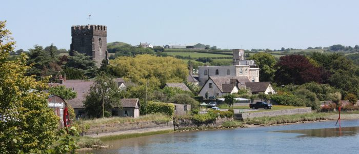 View of Cardigan Castle