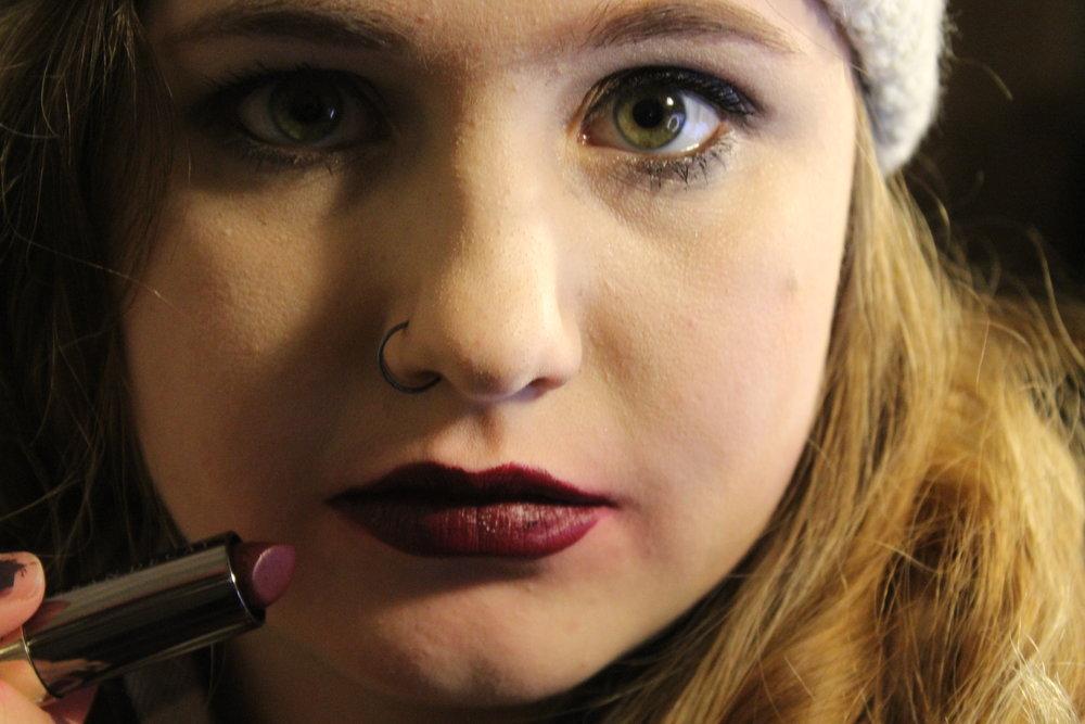 Disturbed Lip Swatch