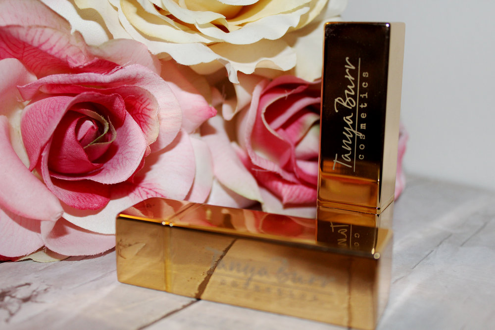 Tanya Burr Lipstick Review - Birthday Cake & Happily Ever After 3