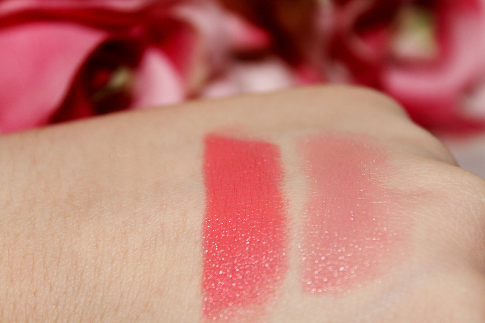 Tanya Burr Lipstick Review - Birthday Cake & Happily Ever After 5