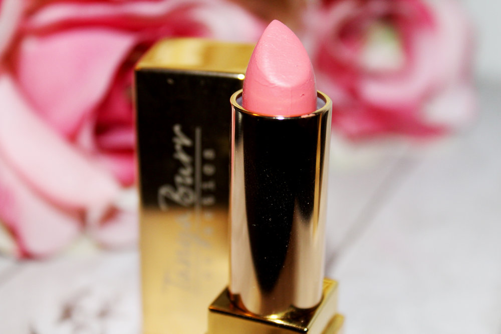 Tanya Burr Lipstick Review - Birthday Cake & Happily Ever After 10