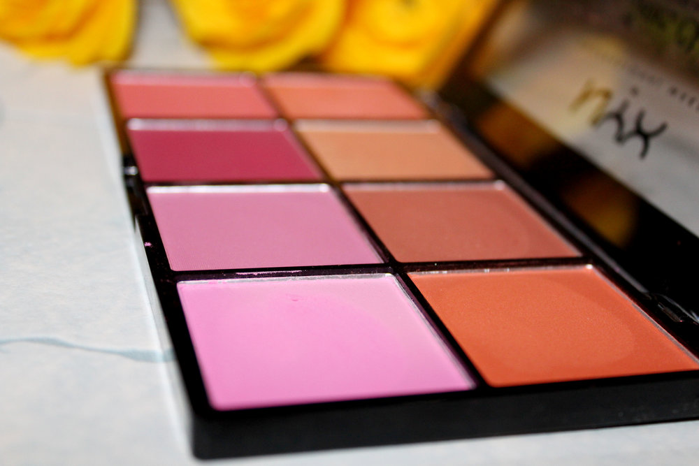 NYX Sweet Cheeks Blush Palette Review & Swatches 3