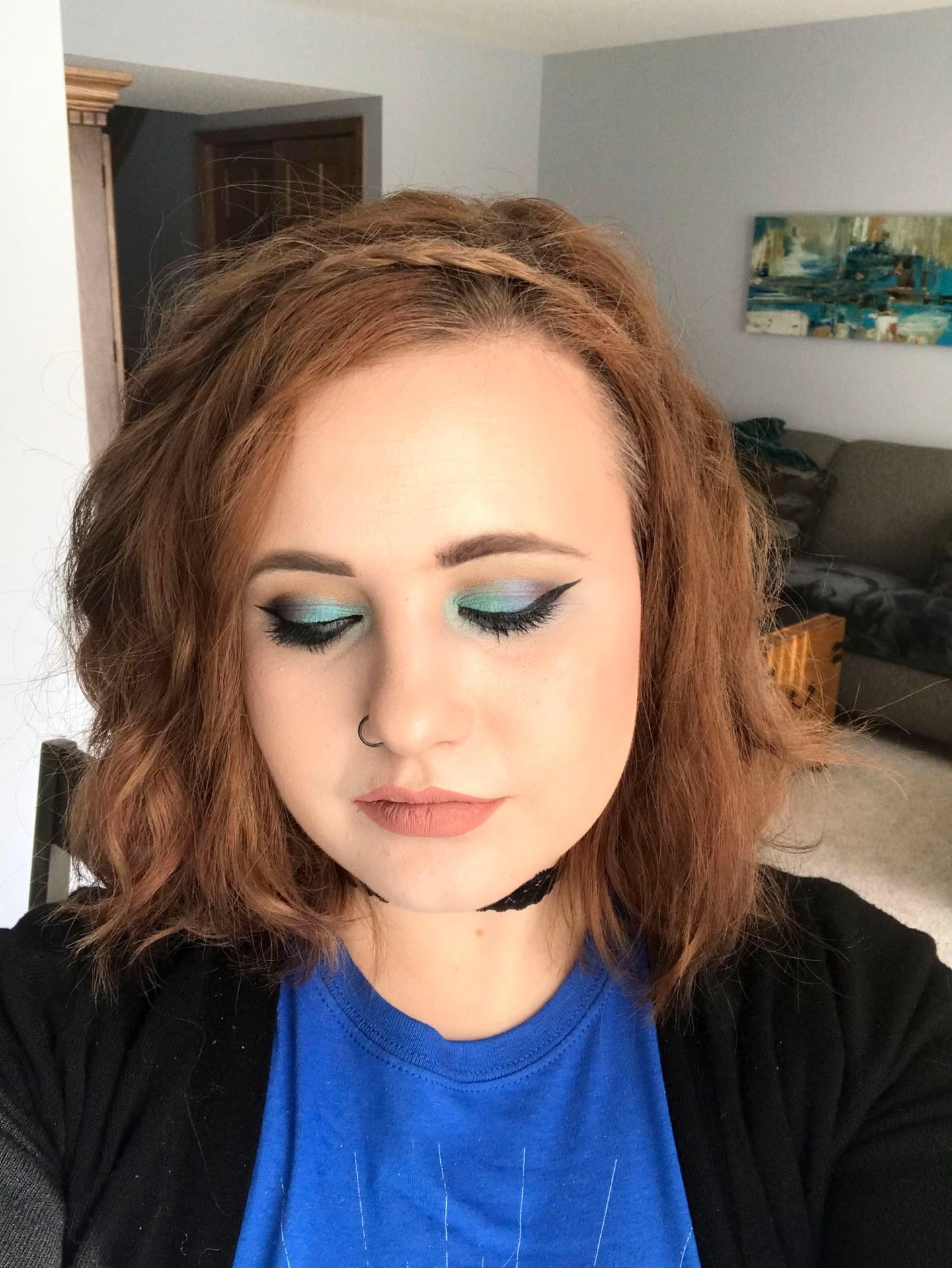 Mae Polzine Mermaid Eyeshadow