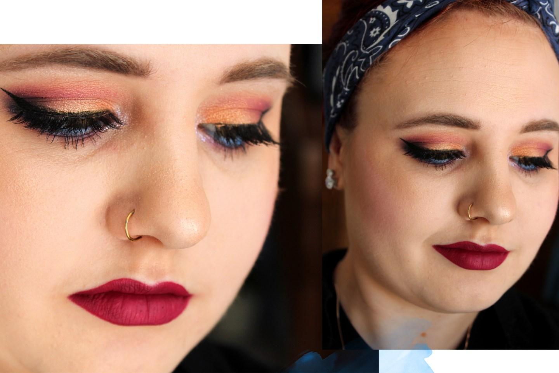 ColourPop Little Pony Palette Sunset Makeup Look.jpg