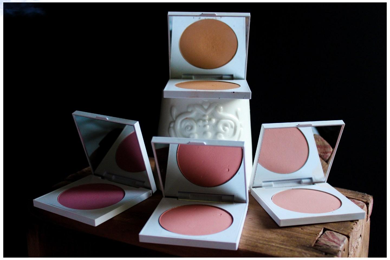 Colourpop blush and bronzer