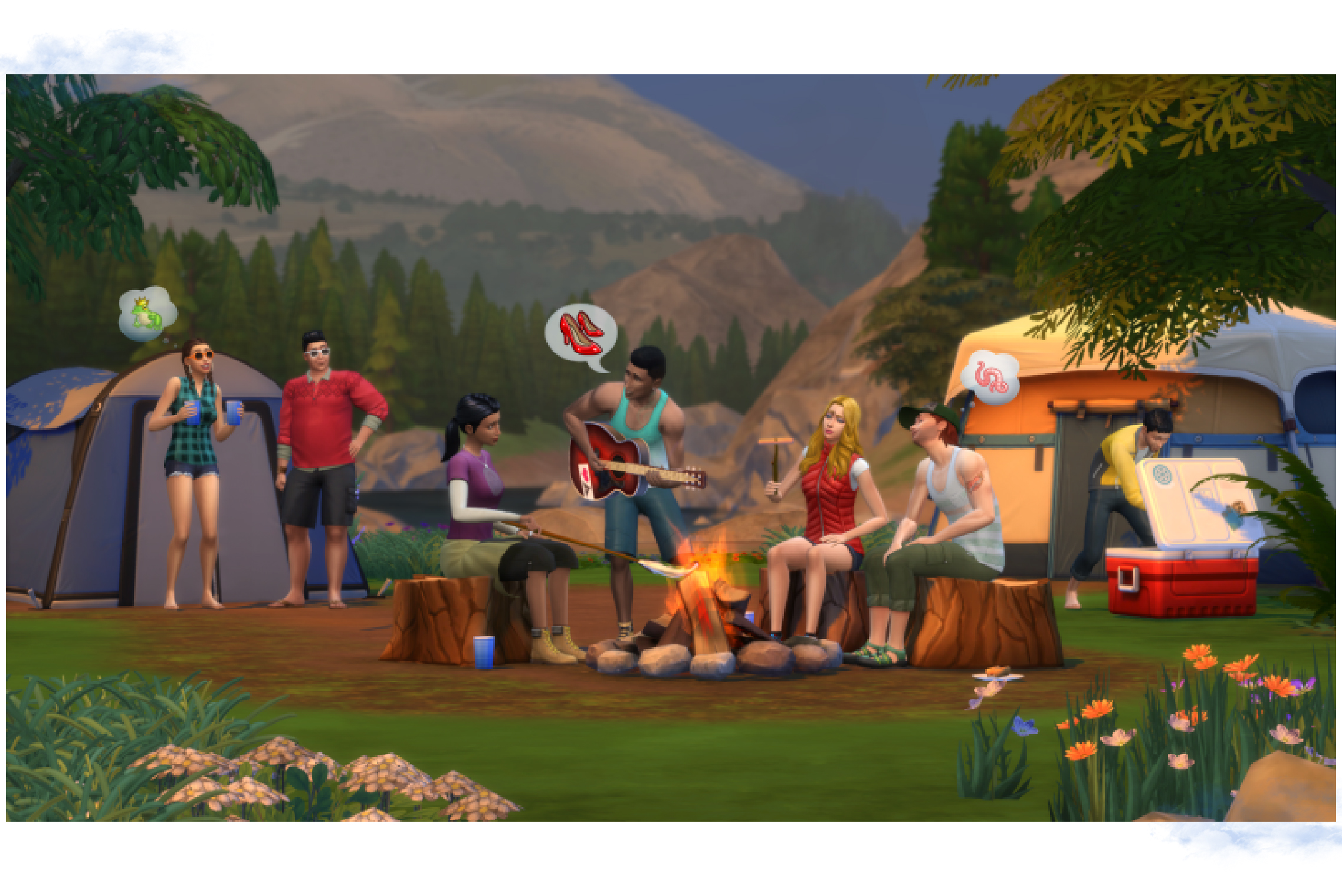 Sims 4 Outdoors