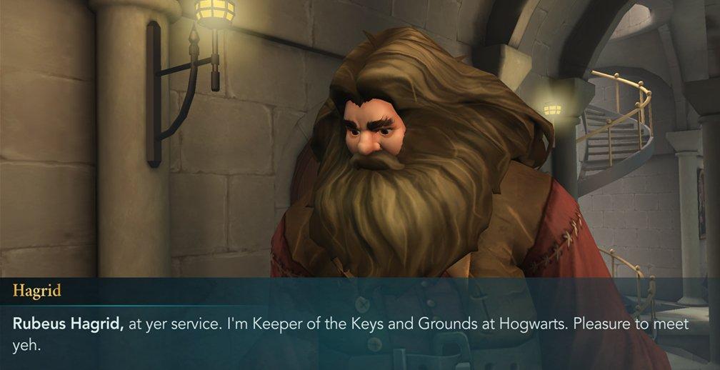Groundskeeper Rubeus Hagrid