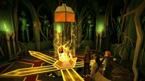 Harry Potter Hogwarts Mystery Year 4 Vault 3