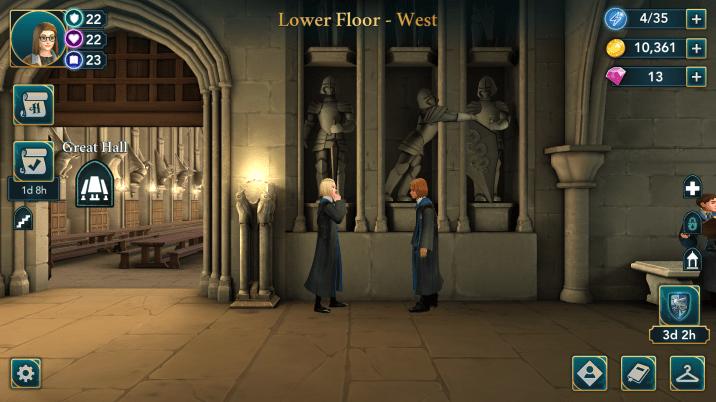 Hogwarts Mystery Statues