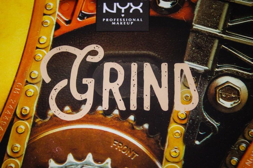 NYX Machinist Grind Palette 1