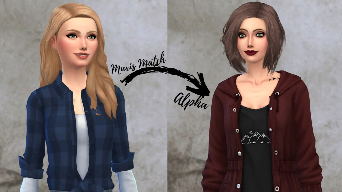 How to get alpha sims 4