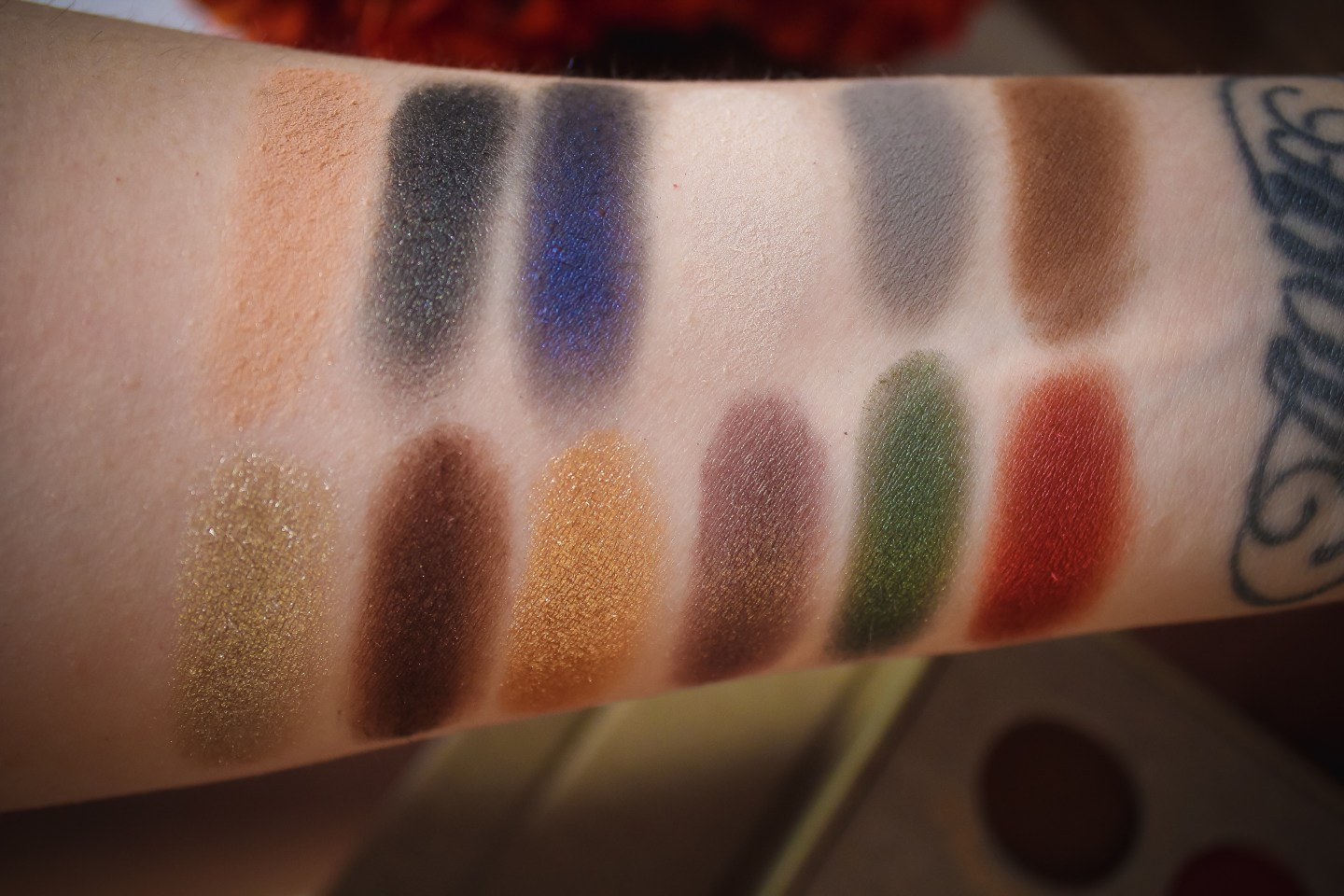Storybook Cosmetics Wizardry and Witchcraft Palette Swatch