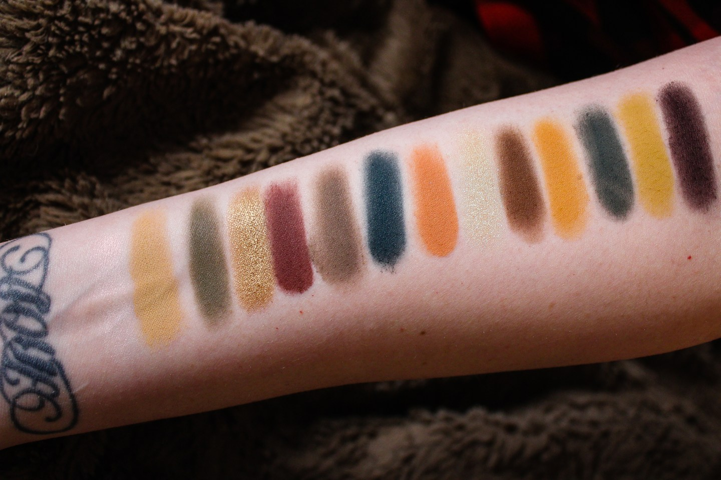 ABH Subculture Palette Swatches