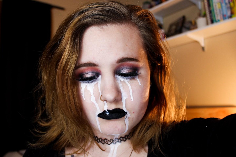 Billie Eilish Inspired Makeup 2