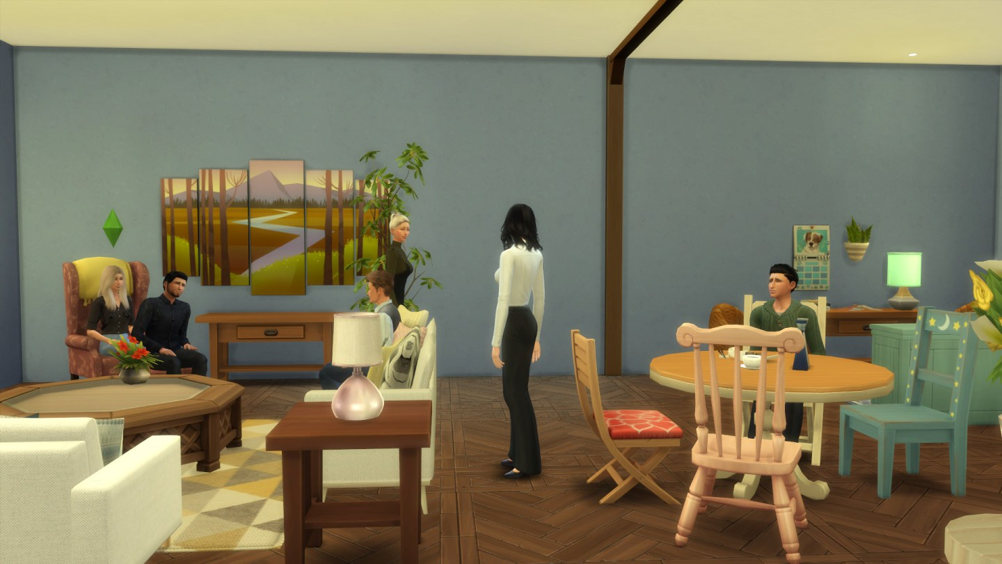 Friends Apartment Sims 11