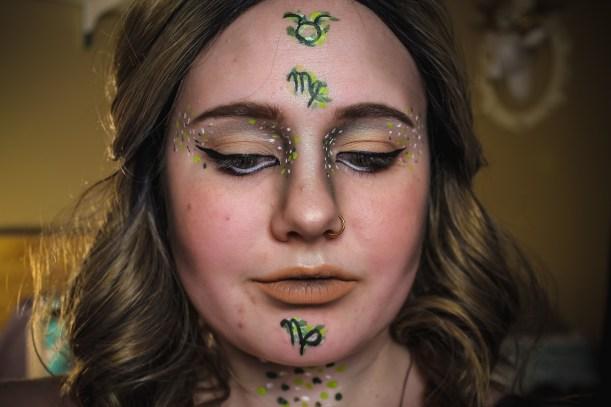 Zodiac Earth Makeup Mae Polzine 7