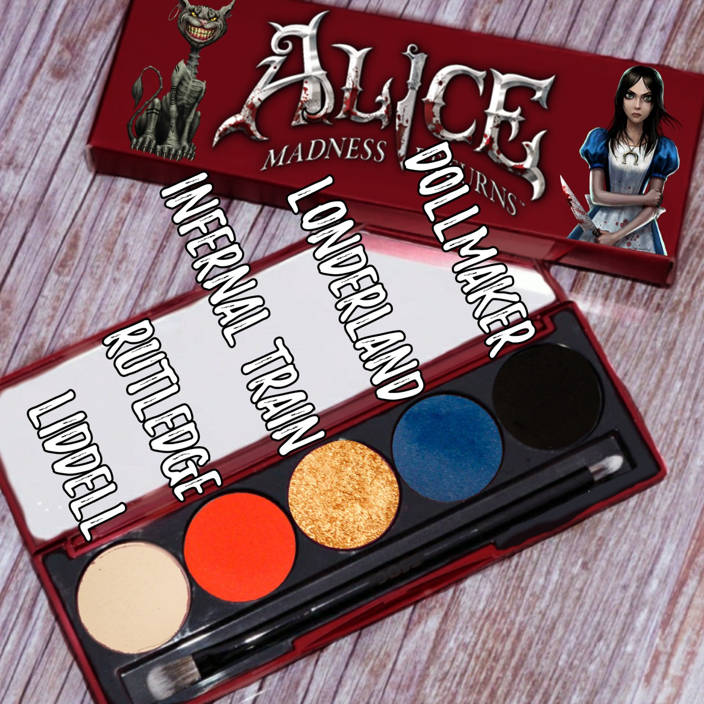 Making My Own Dream Palette Inspired by Alice: Madness Returns 4