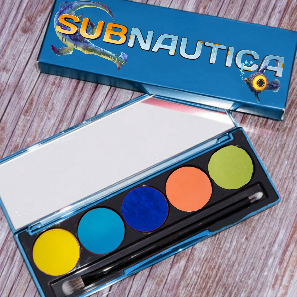 Making My Own Dream Palette Inspired by Subnautica - Mae Polzine