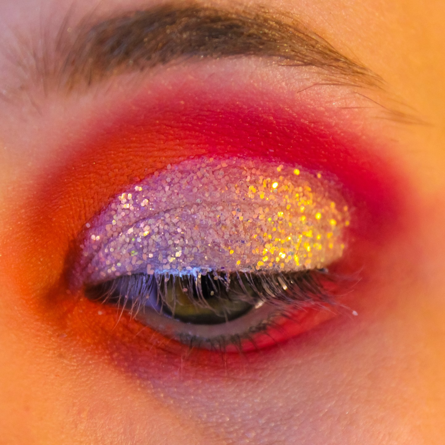 Outer Space Neon Fairy: ColourPop Festival Collection Makeup Tutorial 8