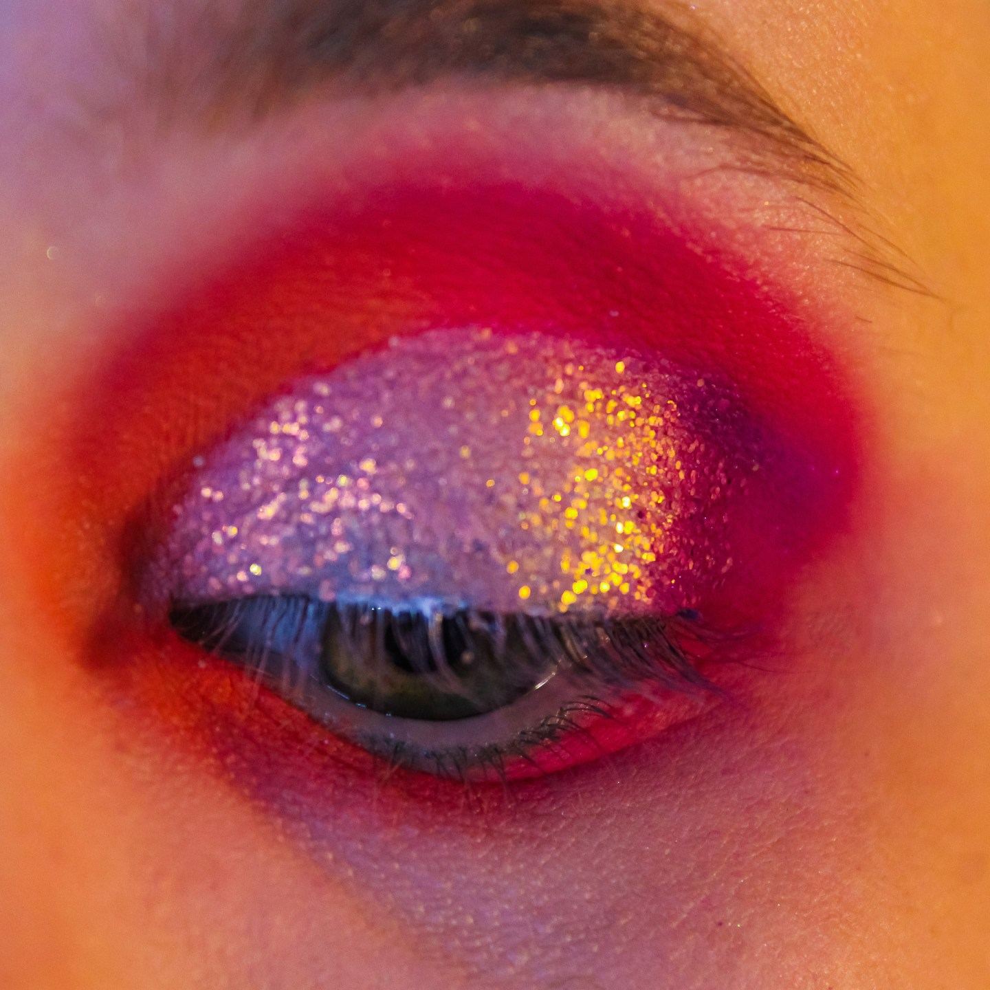 Outer Space Neon Fairy: ColourPop Festival Collection Makeup Tutorial 9