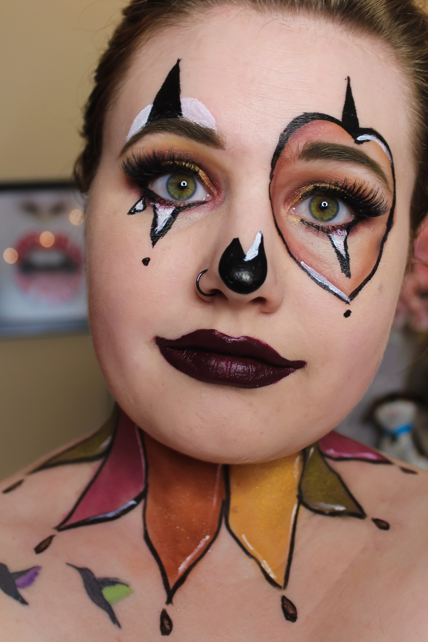 A Fool for Fall (Clown Recreation) Makeup Look 3