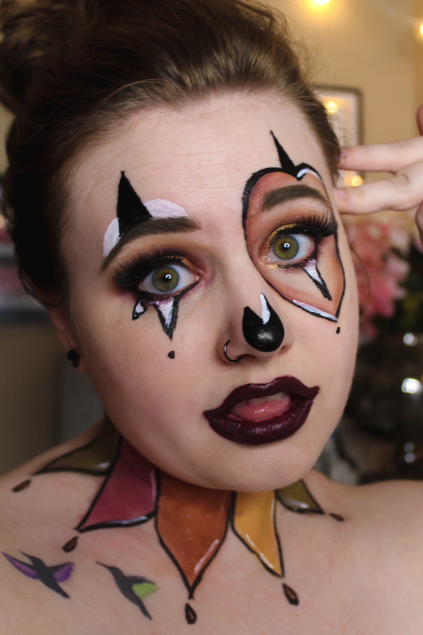 A Fool for Fall (Clown Recreation) Makeup Look 5
